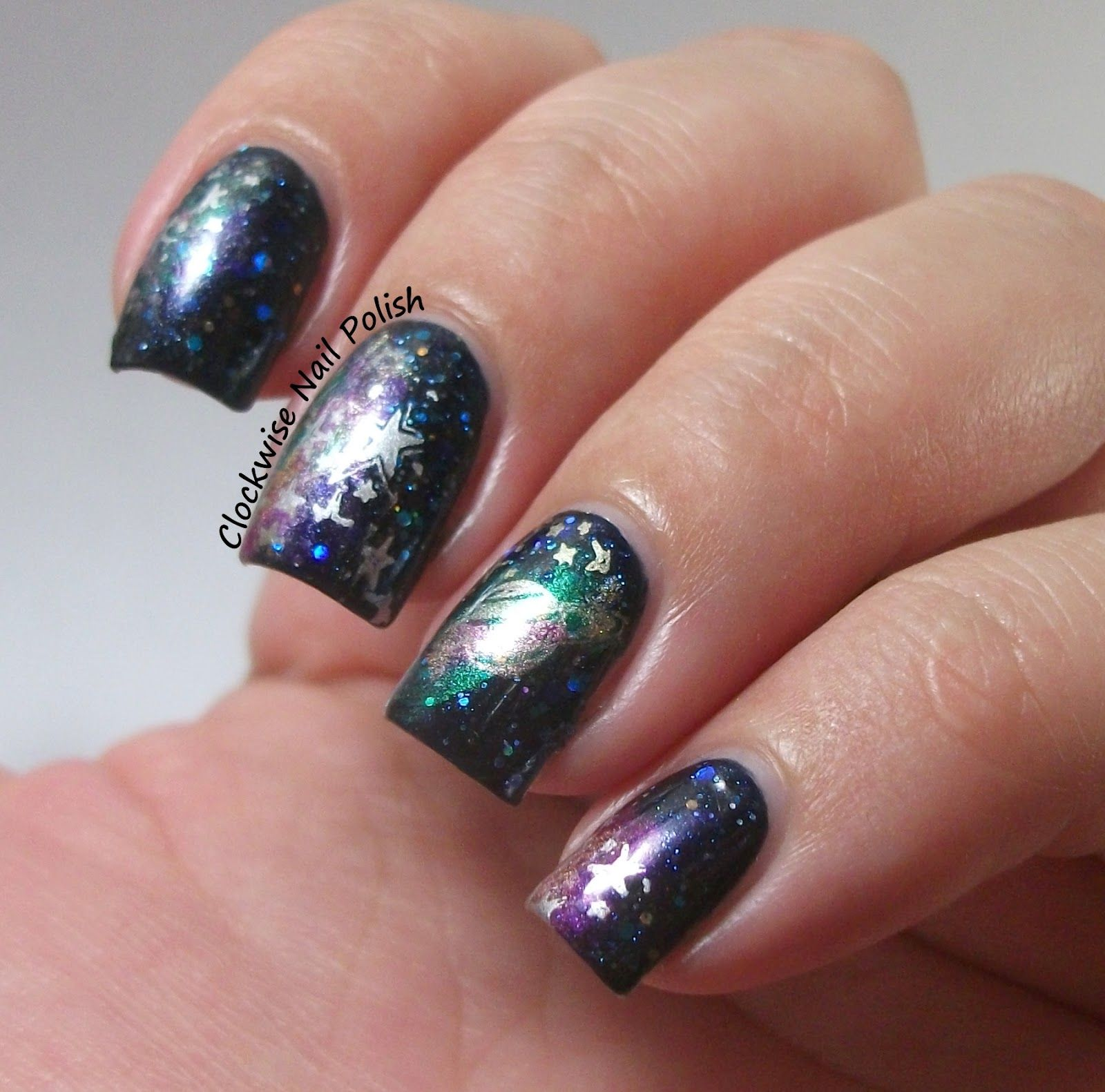 The Clockwise Nail Polish: Penélope Luz To The Infinity & Galaxy ...