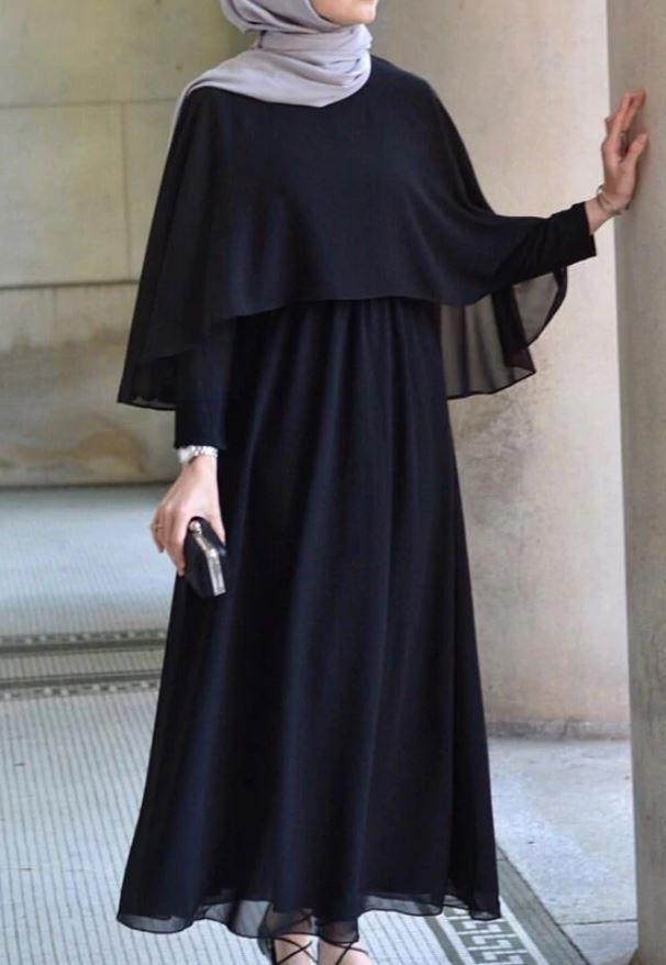 Kilolular Icin Tesettur Abiye Modelleri Tesettur Giyim 2020 Hijab Chic Elbise Batik Elbise
