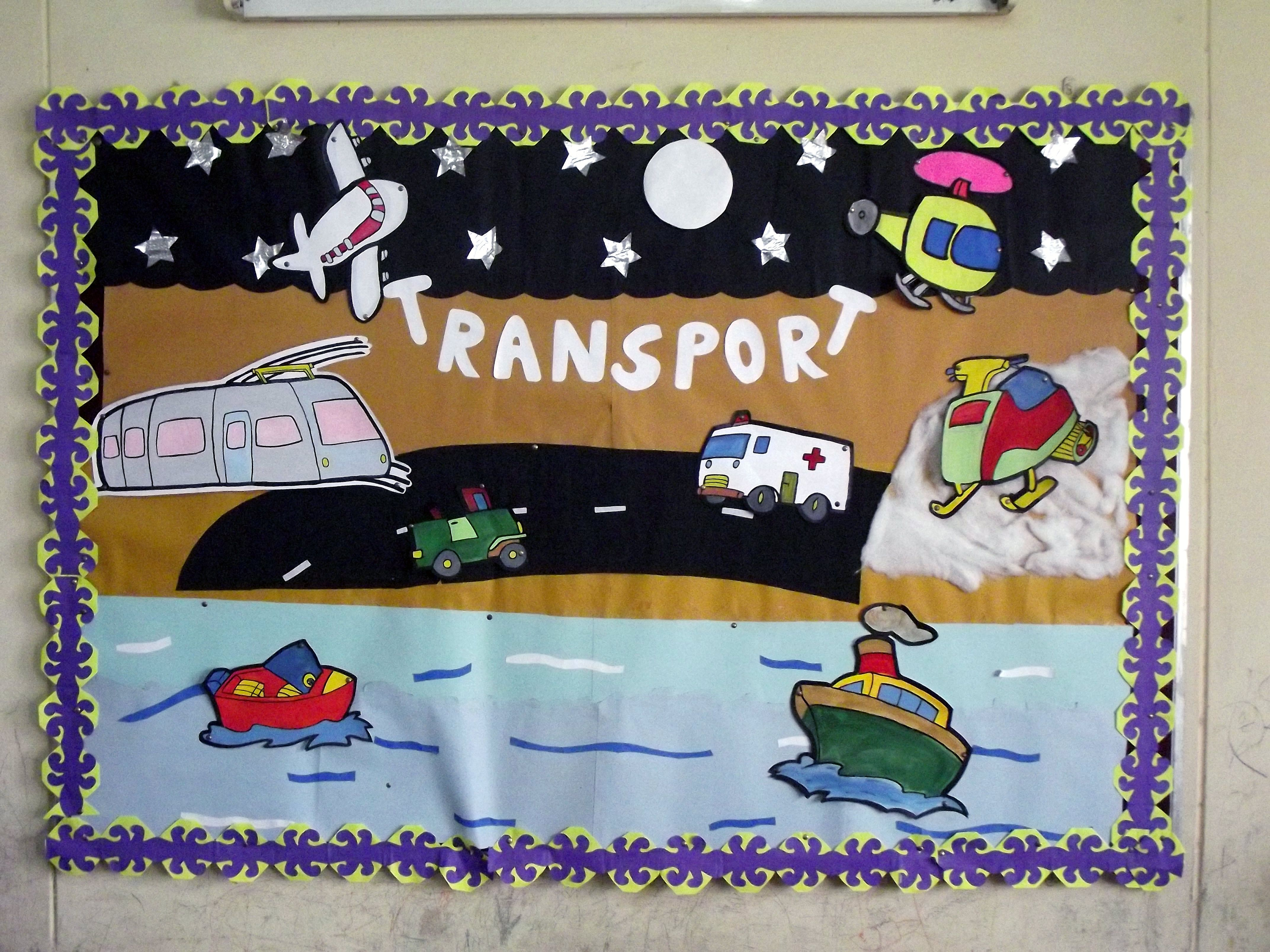 Concept Of Transport Clarified Through A Bulletin Board