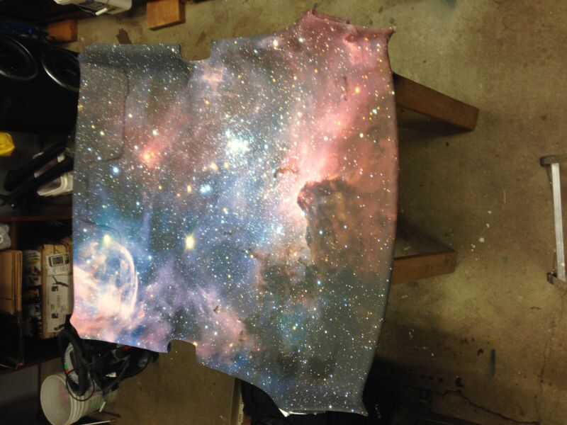 Galaxy headliner hatchie dreams pinterest car stuff for Galaxy headliner material