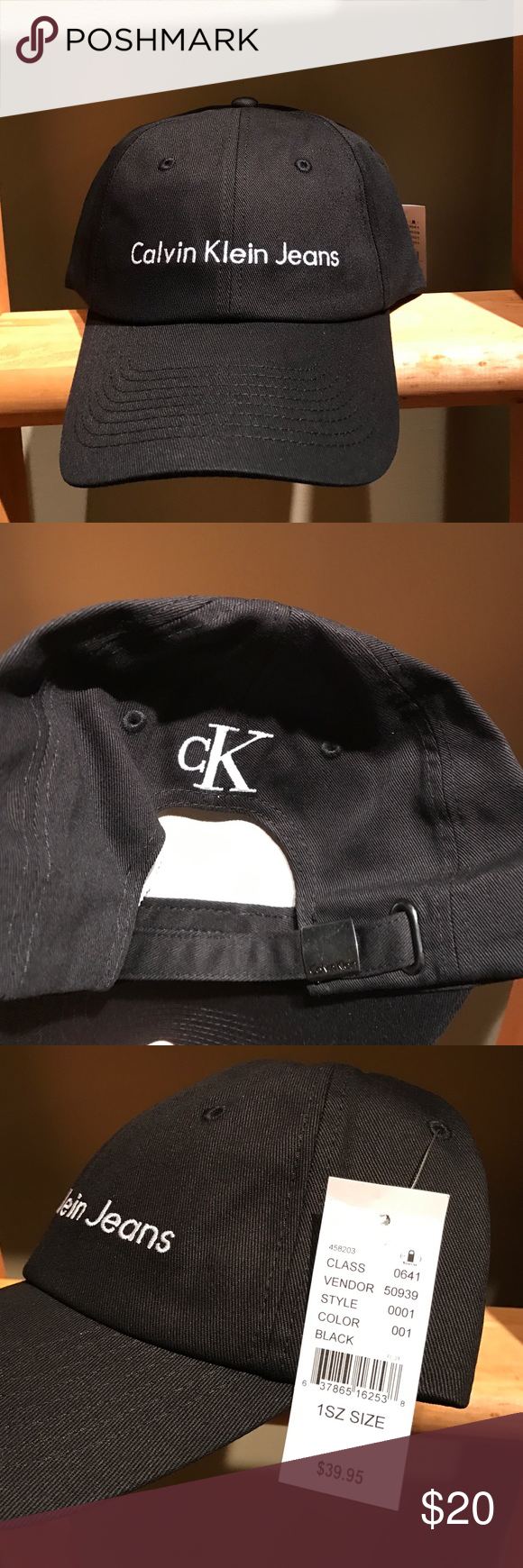 Calvin Klein holiday collection dad hat UNISEX NEW WITH TAGS it s a dad hat.   mycalvins it s too classy for you. I might just keep it. f0e1648d8ed