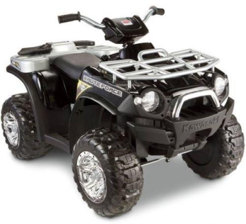 Kid s Kawasaki Four Wheeler Quad Power Wheels ATV Outdoor