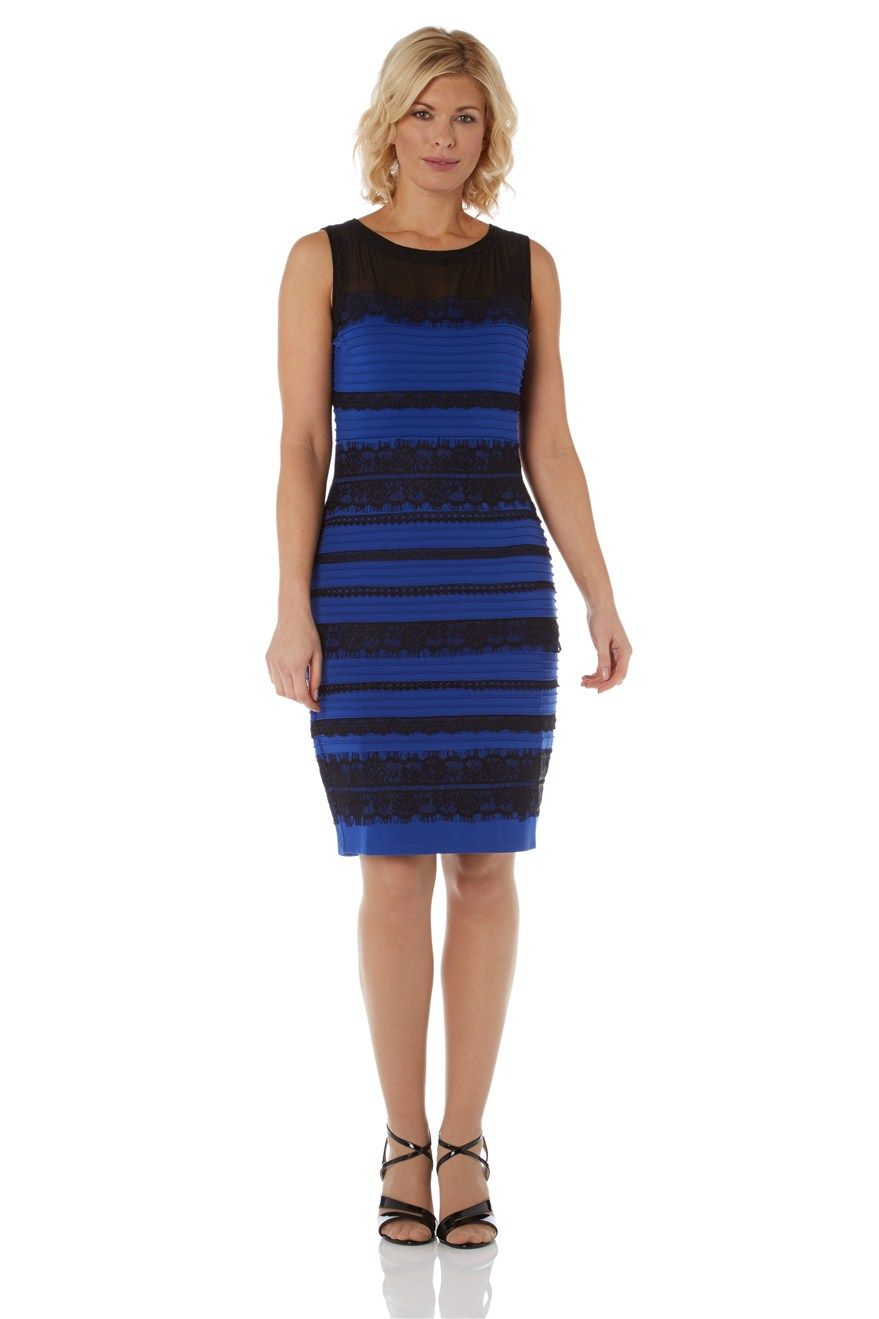 9f0ef9eb0 #TheDress Lace Bodycon Dress - at Roman Originals, the dress everyone is  debating about is actually, black and blue!