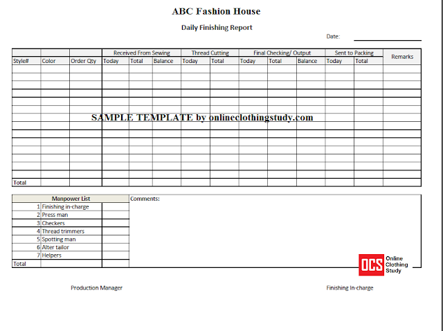 Finishing Report Excel Templates Templates Templates Free Download