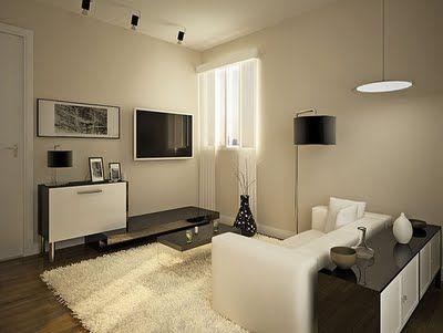 inspiração decoração salas pequenas - Pesquisa Google
