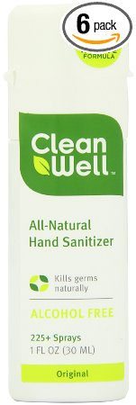 Amazon Com Cleanwell All Natural Hand Sanitizer Original Scent
