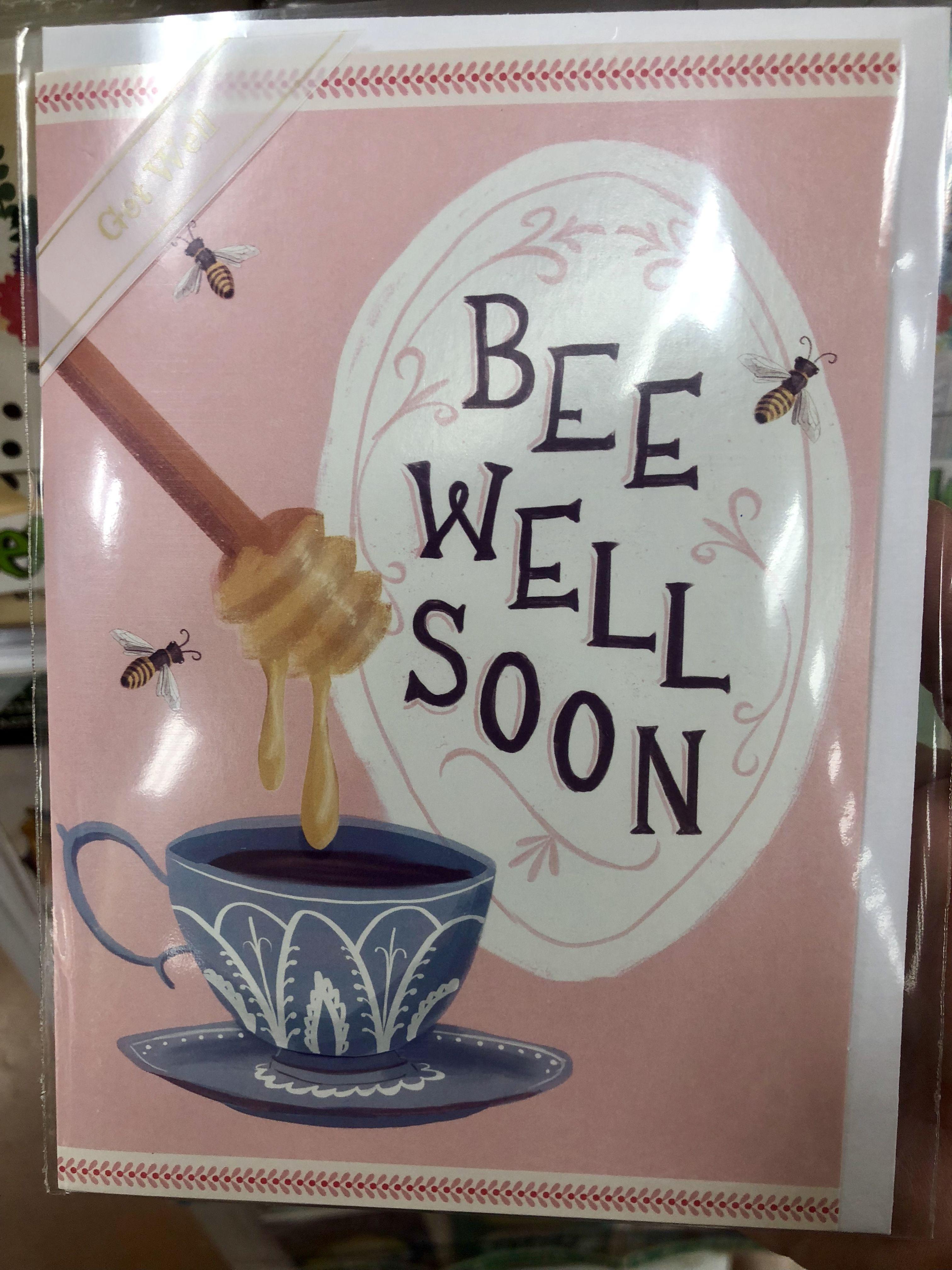 I found this card at trader joes bee cards big hugs