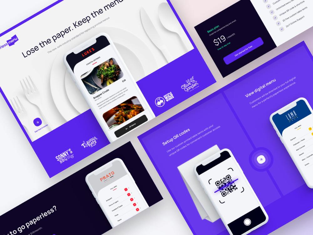 Paperless Menu App Digital Menu Paperless App