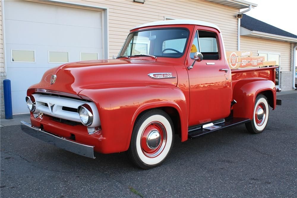 1953 Ford F 100 Ford Trucks Classic Ford Trucks Trucks