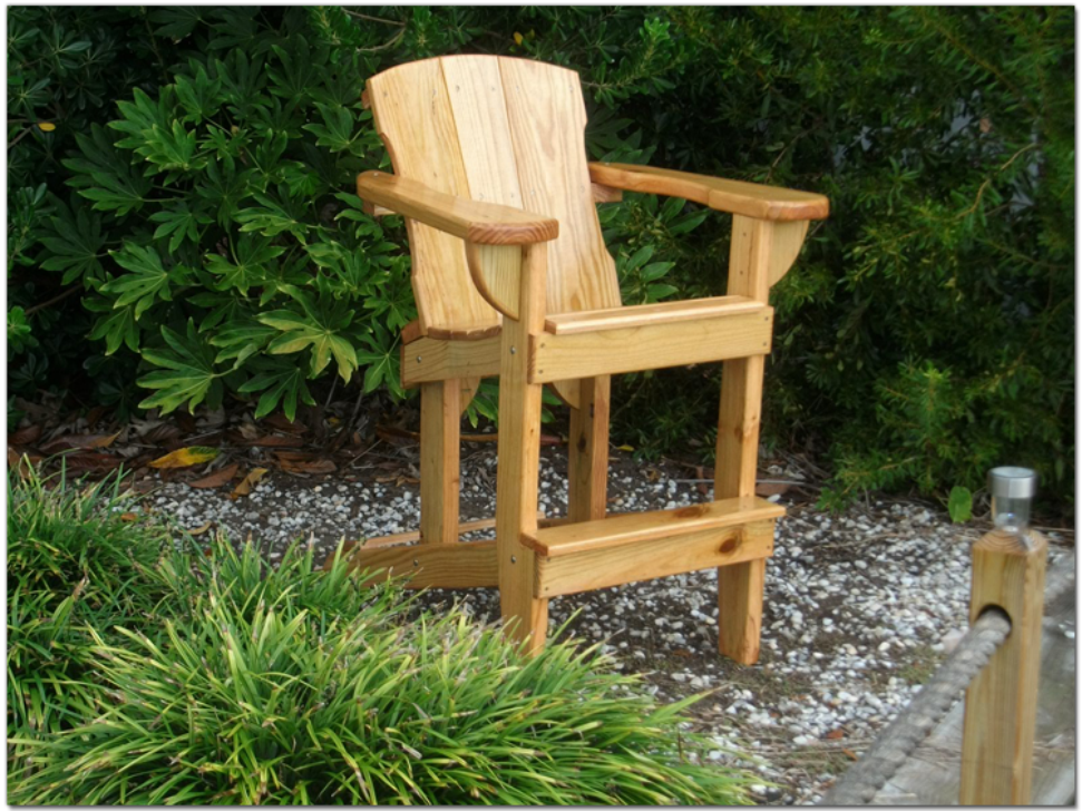 Sedie Adirondack ~ Tall adirondack chairs plans free patio chair furniture rustic