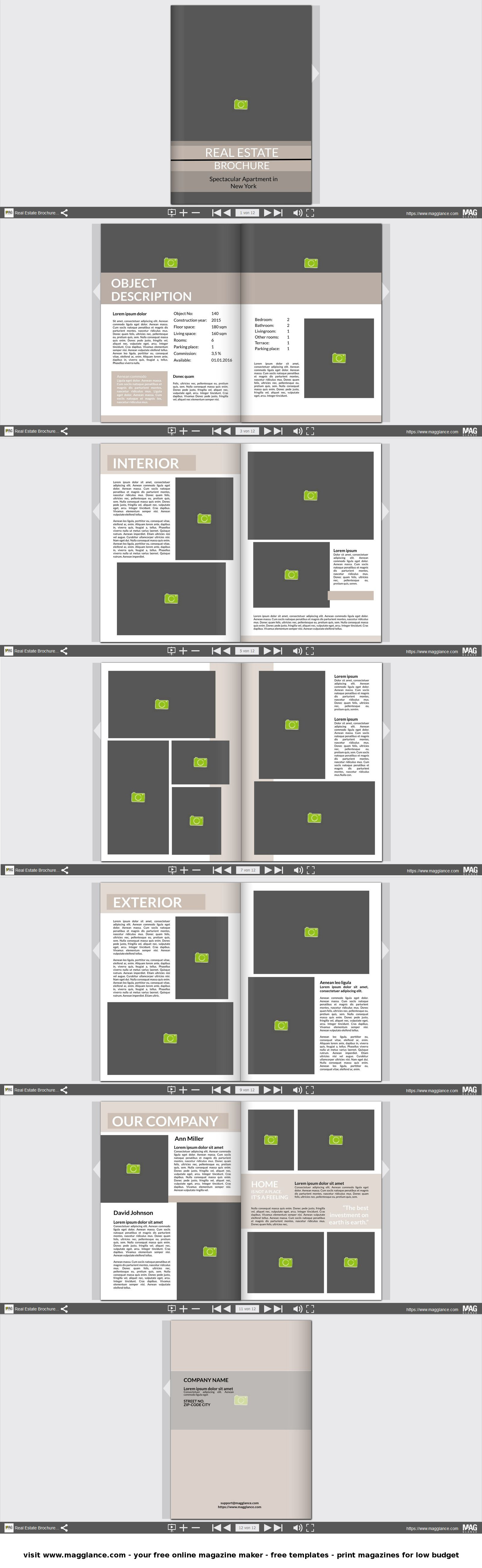 Ideal Immobilien Expose kostenlos online erstellen und g nstig drucken unter de magglance Immobilien