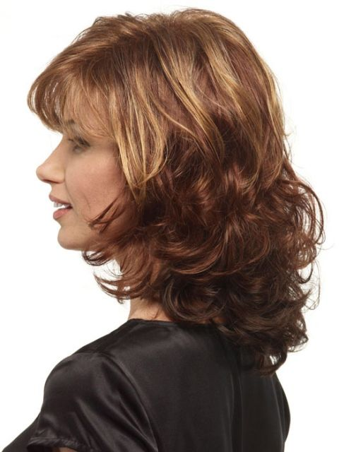 16 Must Try Shoulder Length Hairstyles For Round Faces Medium Length Hair Styles Curly Hair Styles Medium Hair Styles