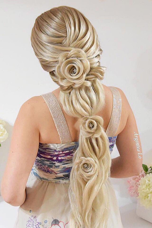 Rose Style Braid Hair Styles Long Hair Styles Cool Hairstyles