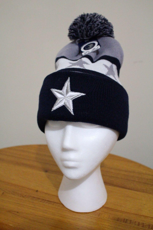 Dallas Cowboys Beanie Knit Pom Pom Hat by WodCreate on ...