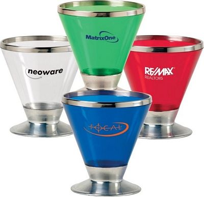 Great Promotional Fusion Martini Glass | Customized Barware | Promotional Barware