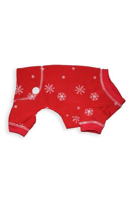 Image of Hip Doggie Snowflake Pajama