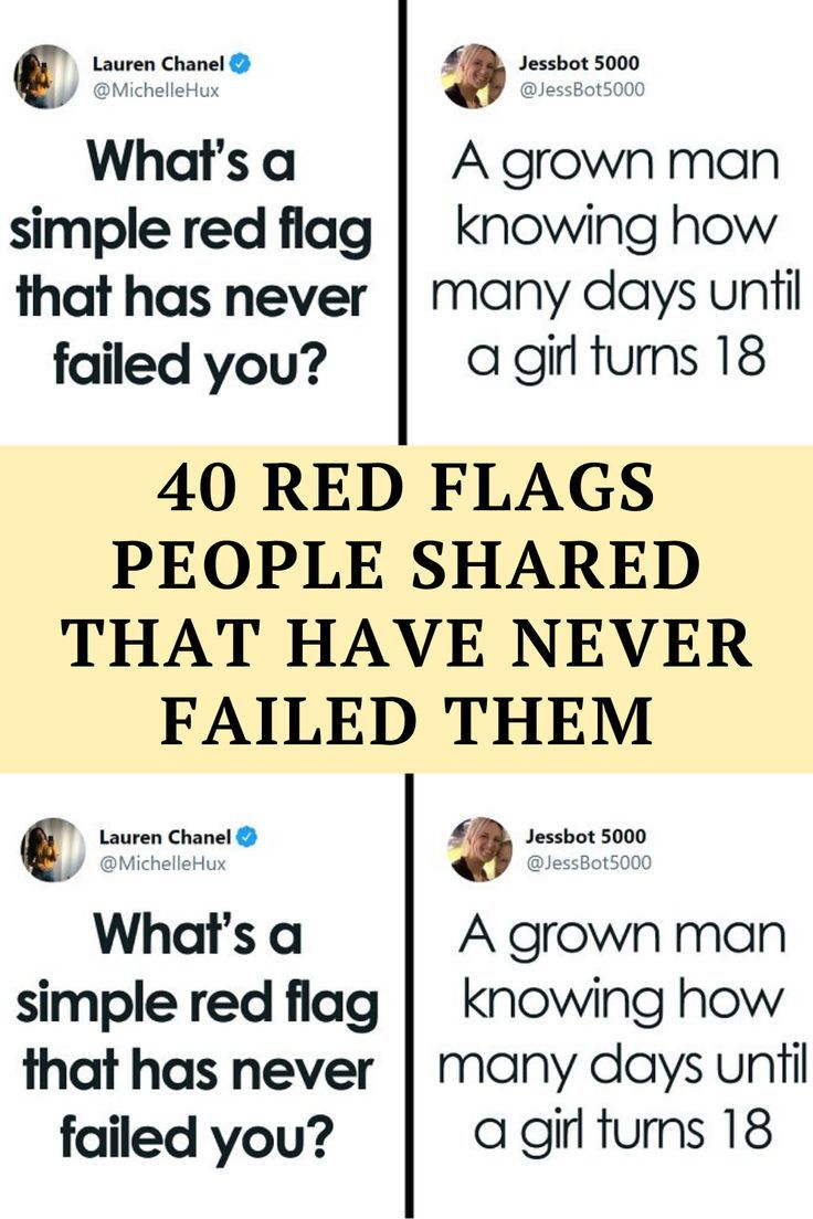 Psychologists think that we tend to ignore red flags because we simply don't want to be right. Falling in love can really mess up our minds,