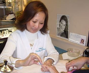 Stereotype Asian Women Work In Nail Salons Jin Woman