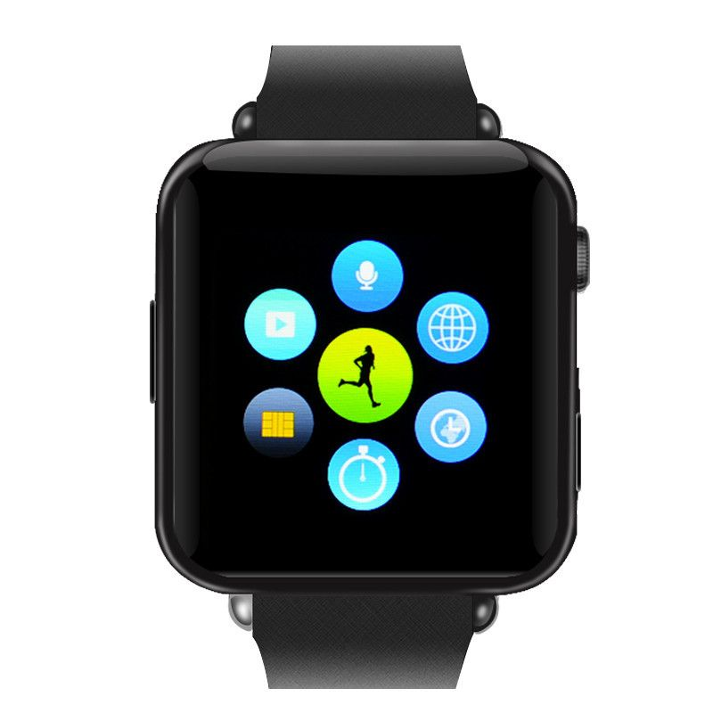 Bluetooth Mobile Phone Watch (Black) Smart watch, Cell