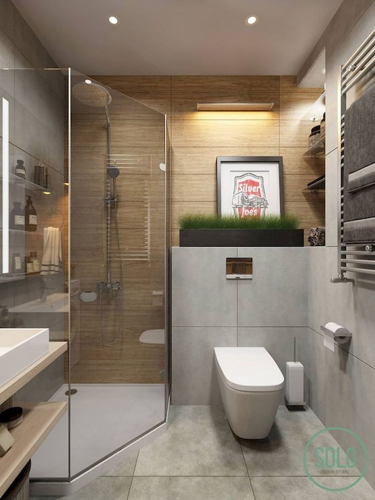 33 Ideas For Small Bathroom (1 in 2020 | Small bathroom makeover, Small  bathroom diy, Small bathroom inspiration