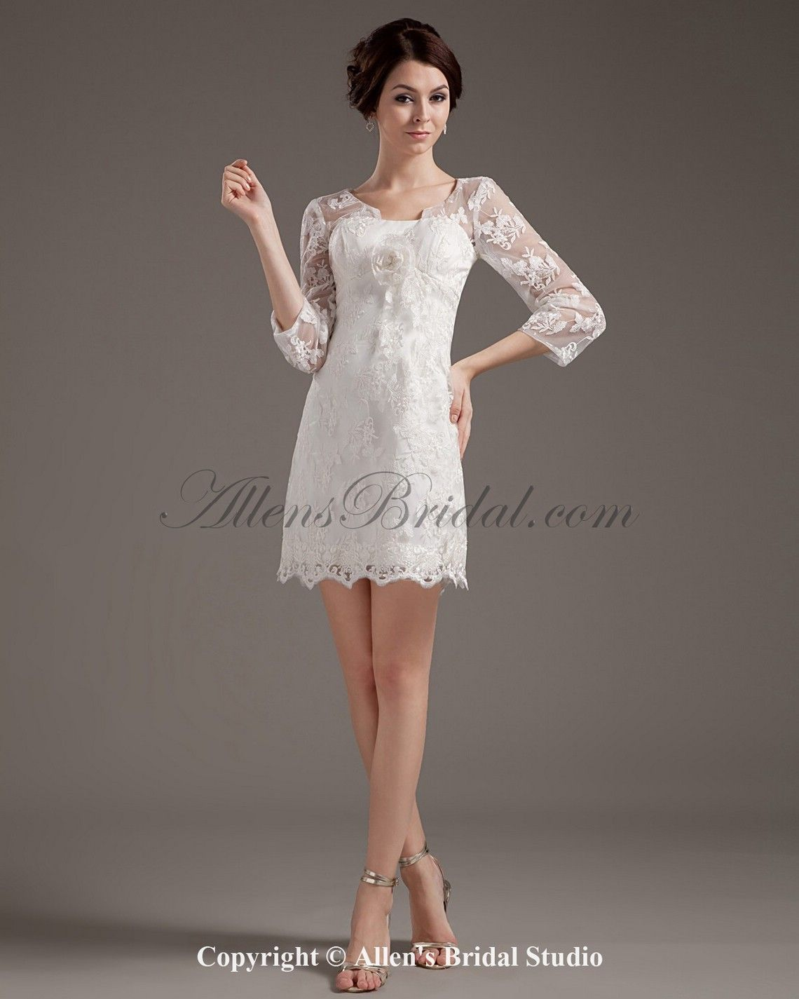 short a line dresses with lace_Other dresses_dressesss