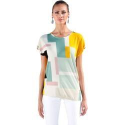 Amy Vermont, Shirt mit grafischem Muster, multicolor Amy Vermont #shouldertops