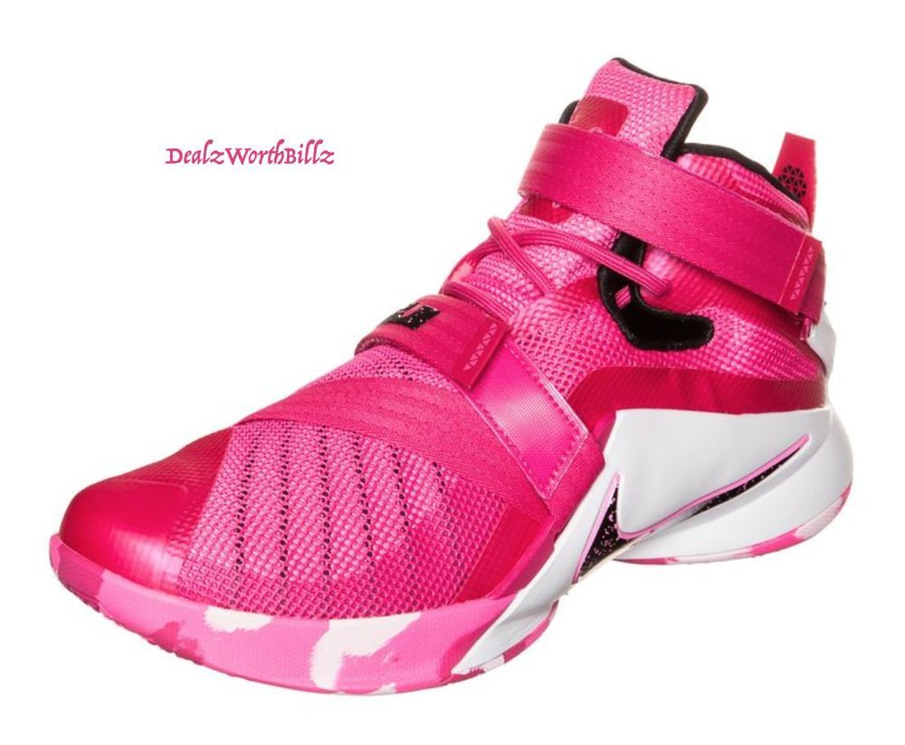 kid shoes NIKE LEBRON SOLDIER lX 9 THINK PINK GS 776471 601