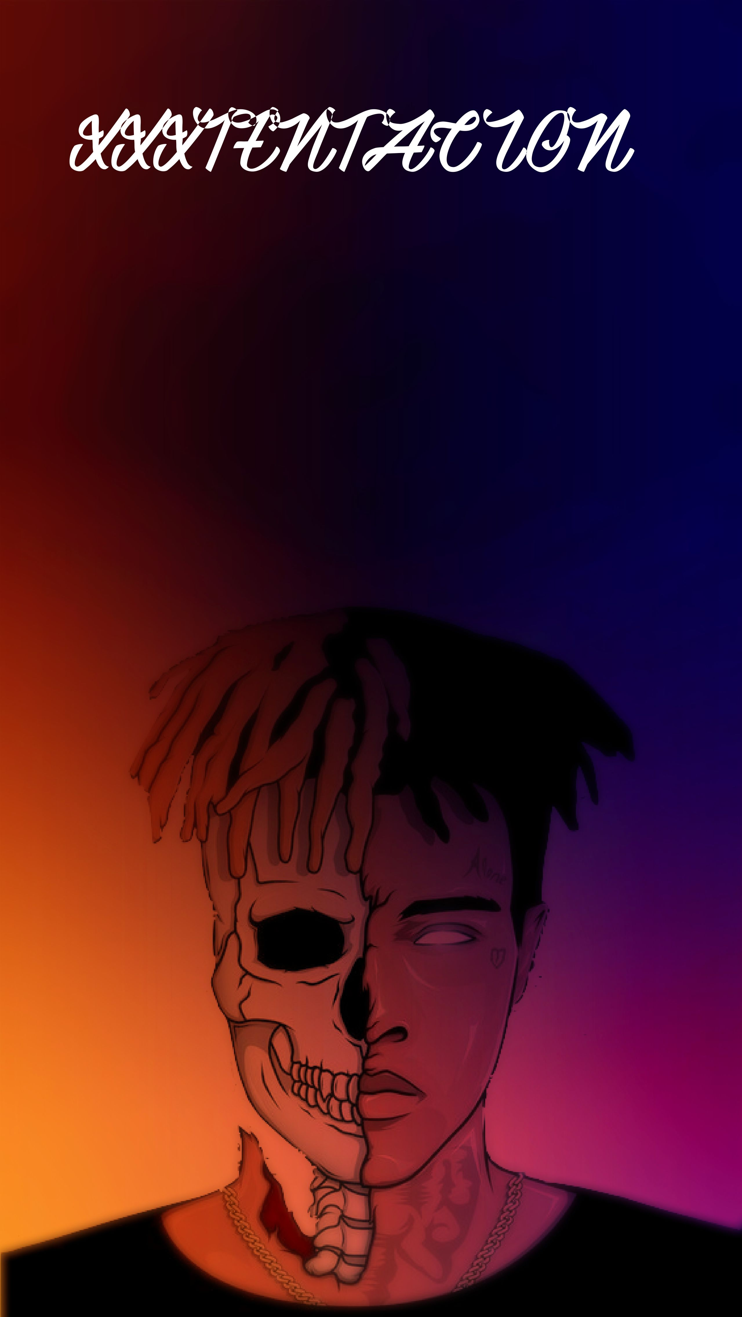 xxxtentacion wallpaper | Song lyrics | Pinterest | Wallpaper, Screen wallpaper and Lock screen ...