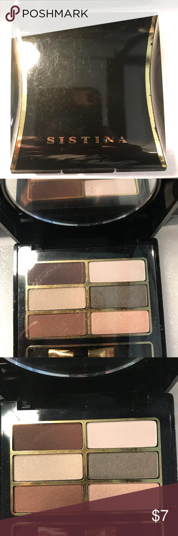 Brand New without Box, Sistina, Eyeshadow, Palette BNWOB