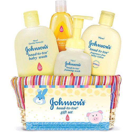 Johnson & Johnson HeadtoToe Baby Gift Set Baby