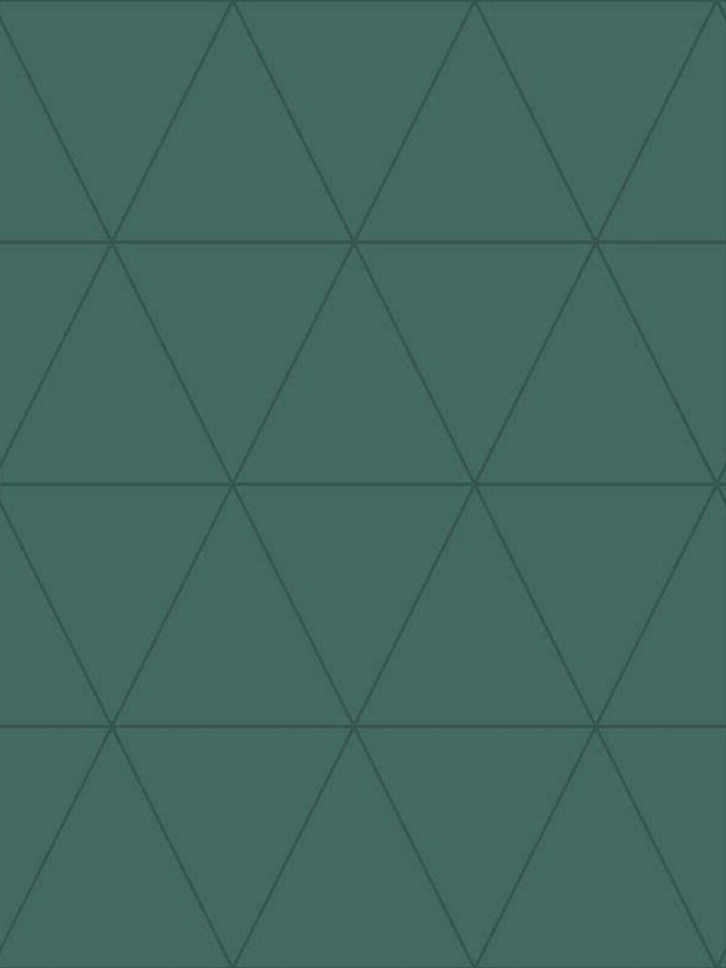 Papier Peint Triangle Graphique Vert Bleu 347717 De La Collection Papier Peint City Chic En 2020 Bleu Vert Triangle Lutece Papier Peint