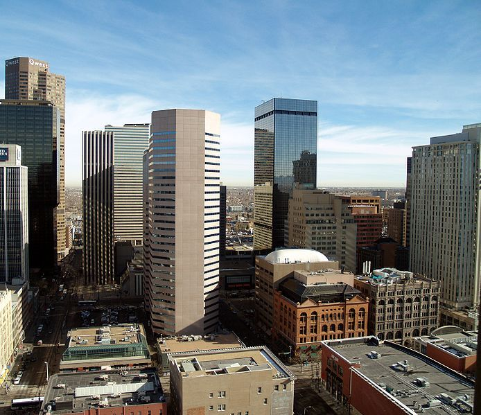 Downtown Denver, Colorado. Go to