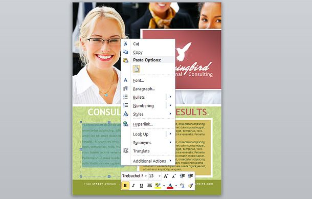 Corporate Business Flyer  Ad Template  Word  Publisher  Pdf