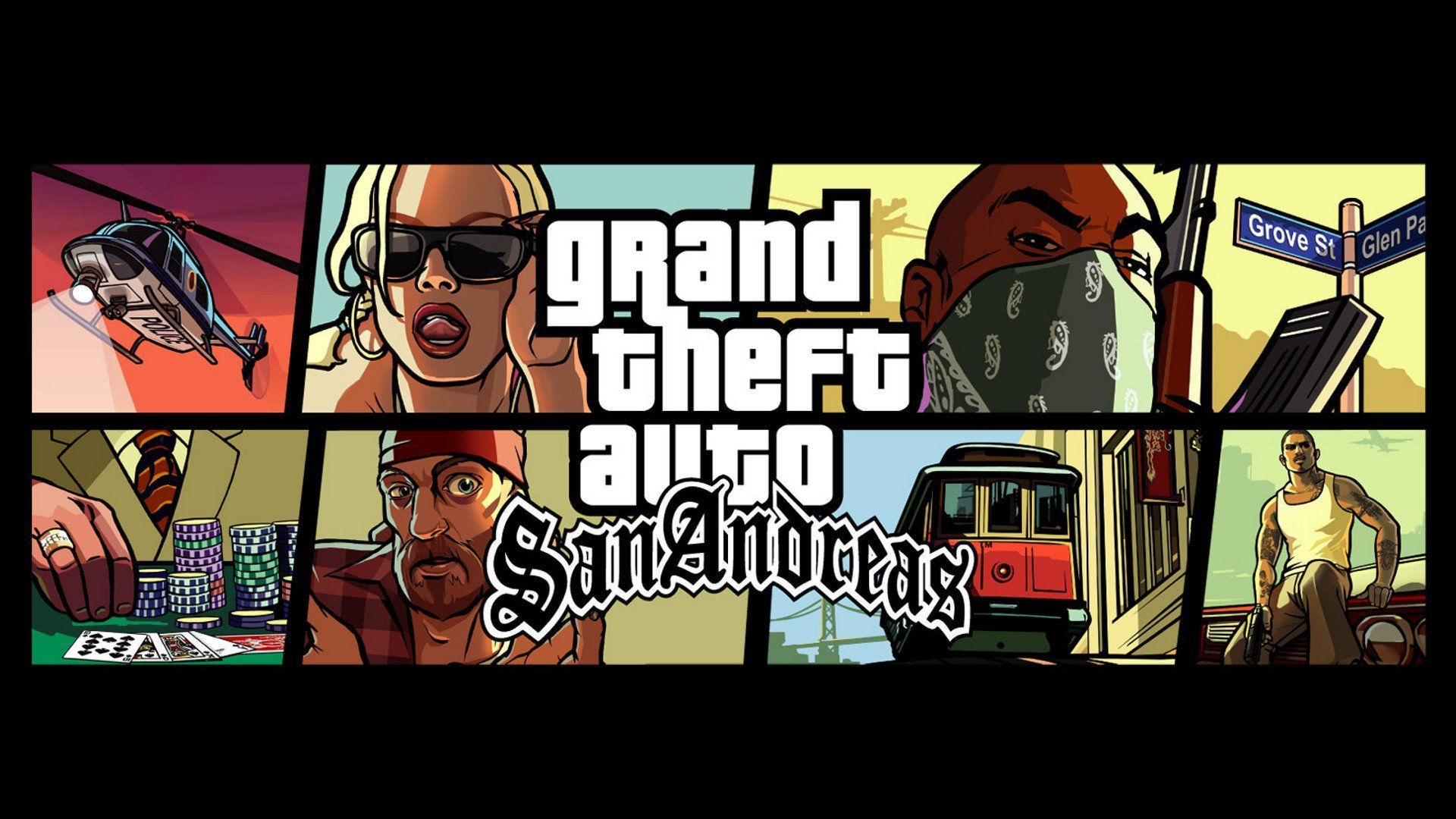 1920x1080 Grand Theft Auto San Andreas Wallpaper Background Image