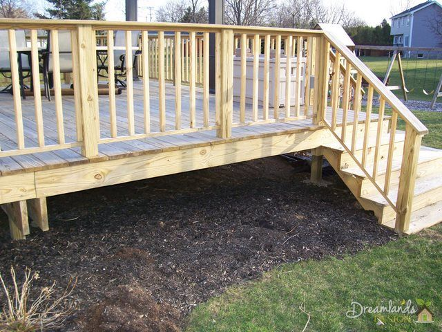 Easy Diy Pressure Treated Wood Deck Skirting Ideas In 4 Days Deck Skirting Treated Wood Deck Deck Designs Backyard