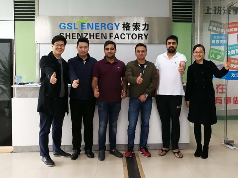 March 20, 2018Today, GSL ENERGY warmly Indian
