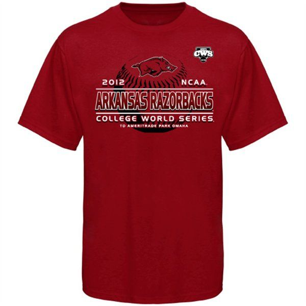 b2516415d Arkansas Razorbacks College World Series T-Shirt | The Best College ...