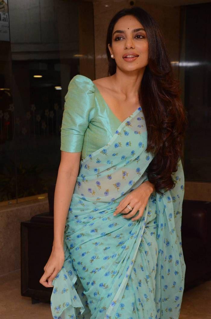Sobhita Dhulipala photos from Goodachari Press Meet (1) #blousedesigns