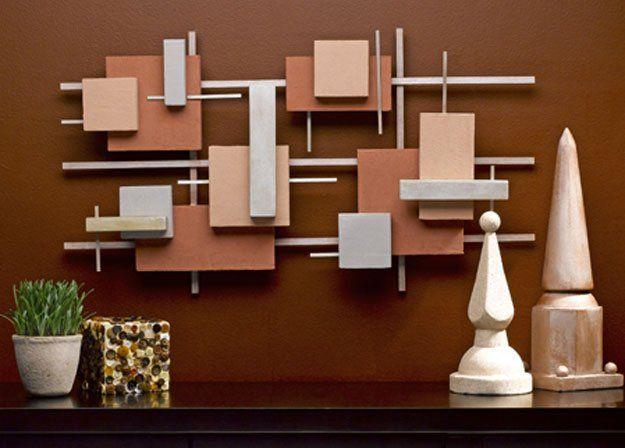 DIY contemporary wall art.