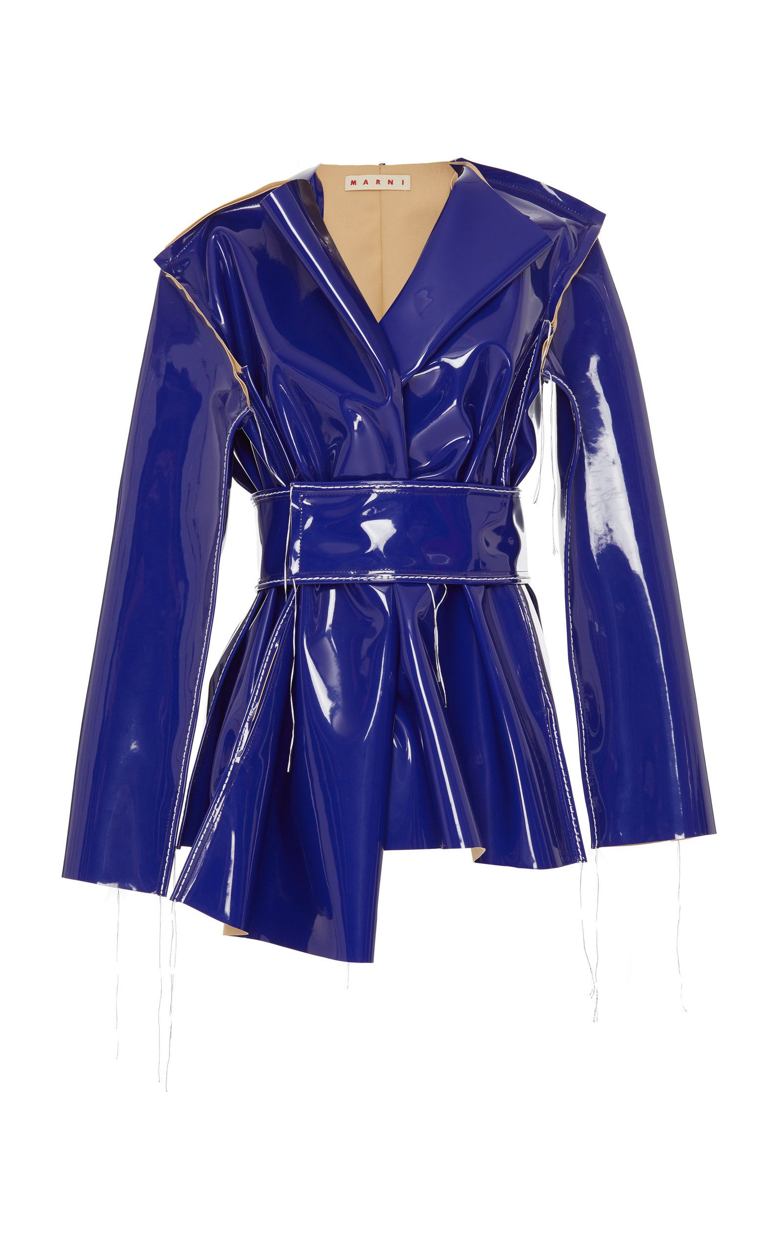 Marni Vinyl Jacket In Purple Modesens Fashion Lookbook Outfits Clothes