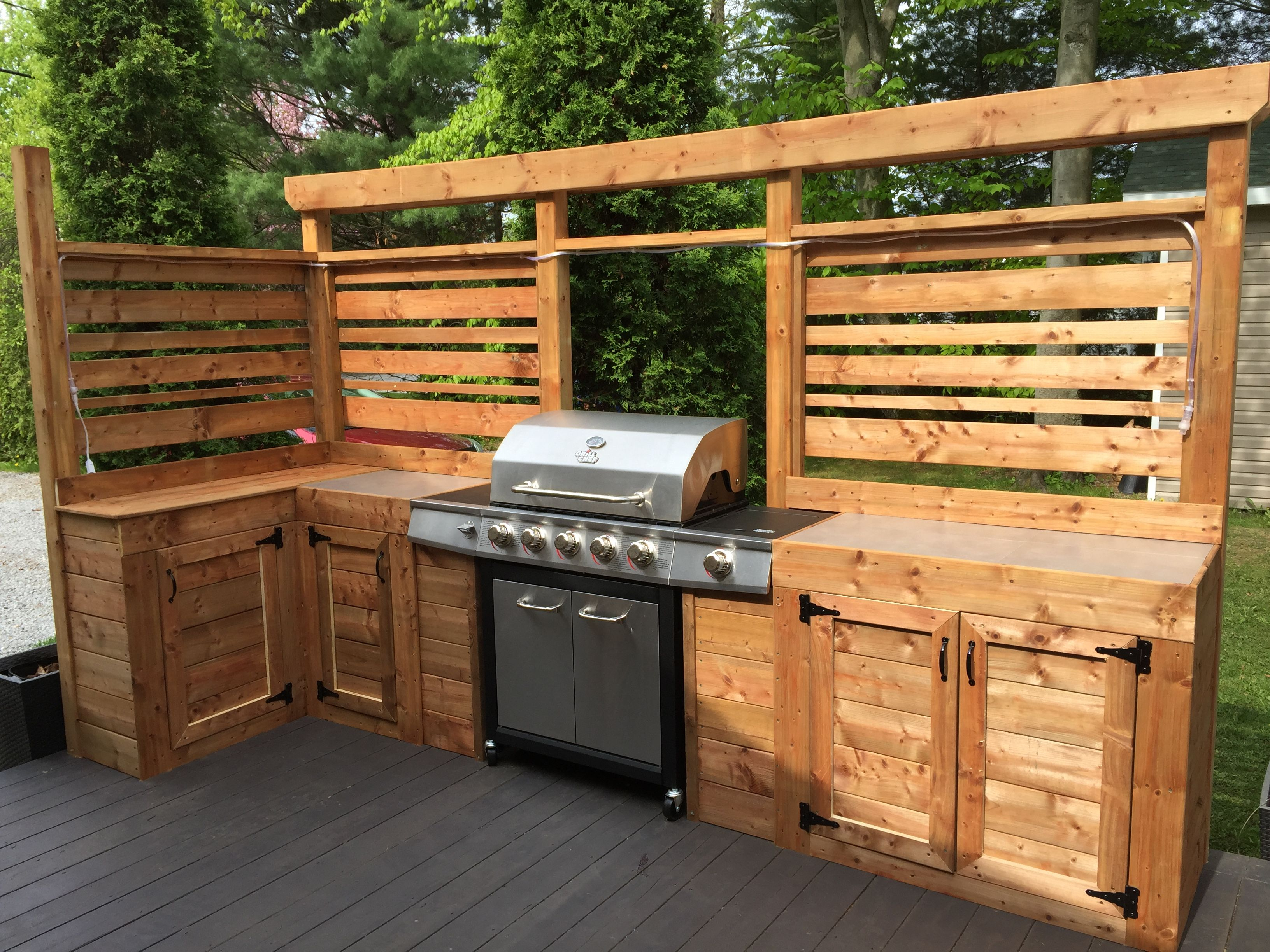 Amenagement Exterieur Coin Barbecue Mon Coin Bbq Terrasse Pinterest Shed Outdoor Kitchen
