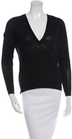 Black V-Neck Pullover Proenza Schouler Pick A Best For Sale In China Cheap Online Clearance With Paypal hIUTNQDM