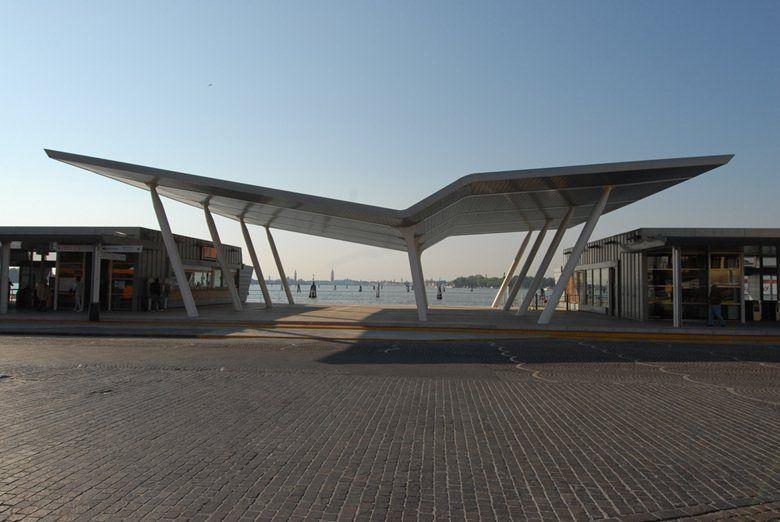 Terminal ACTV di Santa Maria Elisabetta al Lido di VENEZIA, Venice, 2010 - VKA Progetti - arch. Pier Paolo Fugali