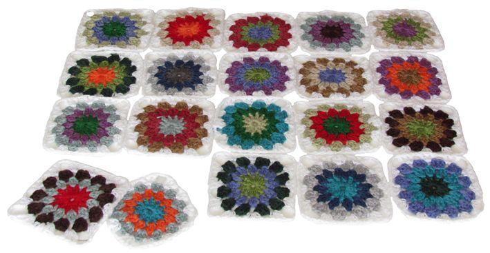 Granny Square Trui Haken Crochet Hakeln Haekeln Sweater Pully