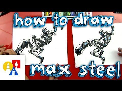 How To Draw Max Steel Art For Kids Hub Max Steel