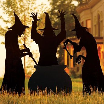 Best 25 witch silhouette ideas on pinterest halloween for 3 witches halloween decoration
