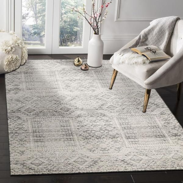 Manisa 751 Silver Grey Patterned
