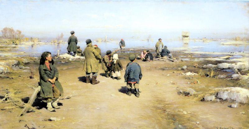 ARKHIPOV Abram - Ice passed. 200 Russian painters