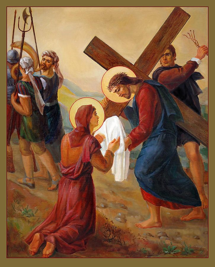 Via Dolorosa 6. Stations Of The Cross Painting   Stations of the ...