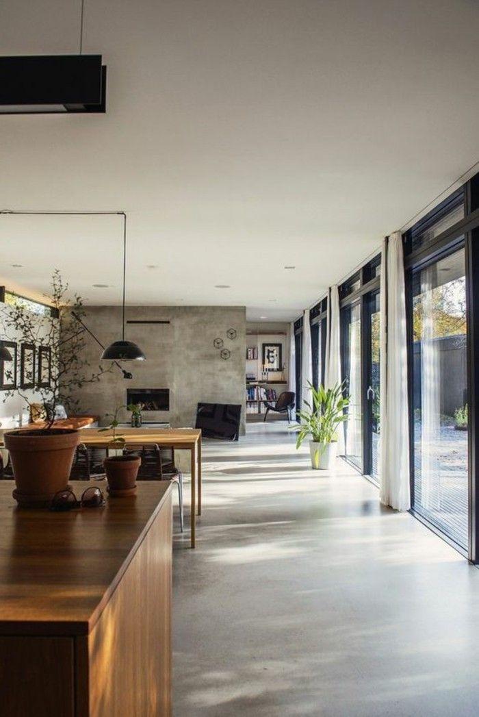 Intérieur en béton décoratif? Nos conseils! Salons, Interiors and
